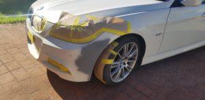 Car Bumper Repair Before