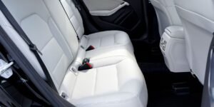 White Car Interior