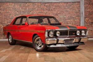 Red Ford Falcon GTHO Phase III