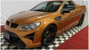 Holden Special Vehicles Maloo GTSR W1