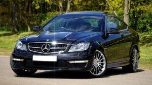New Black Mercedes